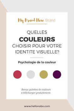 Choisir couleurs identite visuelle Hello Nobo