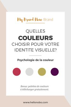 Il y a quelque temps, j'ai créé quatre palettes de couleurs, que vous pouvez télécharger dans la bibliothèque de ressources. Chacune correspond à une personnalité différente selon les principes de psychologie de la couleur. Pour vous aider à déterminer quel type de couleur communiquerait au mieux les intentions de votre entreprise ou de votre blog, je vous ai concocté cet article qui explique les caractéristiques de chaque catégorie de couleurs. Vous pourrez ainsi positionner votre ma...