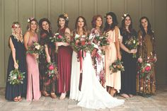 Choose between these pretty color palettes for your fall wedding.