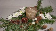 Weihnachtsdeko selber machen : Adventsgesteck, Weihnachtsdekoration