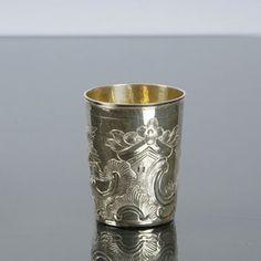 Muki, hopeaa, Moskova, v. 1778.