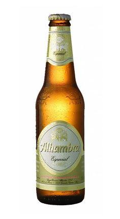 Alhambra Especial, Lager 5.4% AVB (Cervezas Alhambra, España) [mayo 2016]