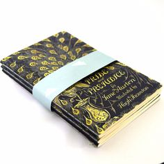 Your P&P pocket notebooks will help you forget all about Mr. Darcy. This incredibly elegant Pride and Prejudice pocket notebook 3-pack is the perfect size to slip in your pocket and bag, and you'll be