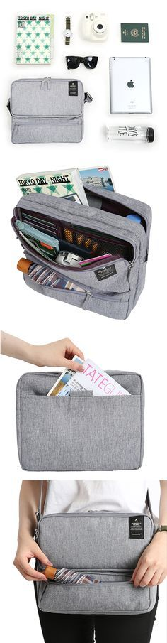 You will be astonished at how much can fit in the Monopoly Travel Messenger Bag! This stylish and functional bag meets every travel need you may have!