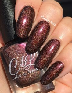 ehmkay nails: Colors By Llarowe November 2016 PotM Turning Leaves