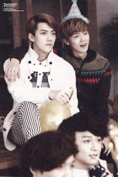 Luhan and Sehun