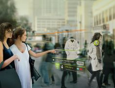 Augemnted reality interface for shopping (concept). #AR