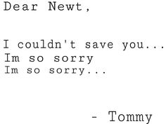 I'M NOT CRYING MY EYES ARE SWEATING FEELS<<<I will use this excuse when watching maze runner from now on.