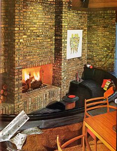 66 best 70s Interiors images on Pinterest   1970s decor ...