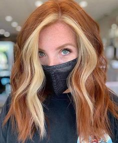 Dye My Hair, New Hair, Ginger Hair Color, Vivid Hair Color, Cute Hair Colors, Hair Color And Cut, Urban Look, Strawberry Blonde Hair, Red Blonde Hair