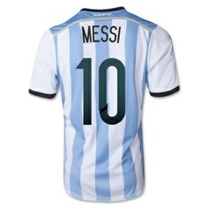 Men's 2014 Argentina Soccer Jersey  Price: $55.00