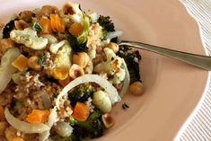 Maart recept: Couscous met gegrilde groenten, hazelnoten &...