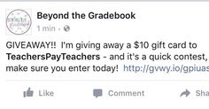I'm giving away $10 to @teacherspayteachers. Follow the #linkinprofile to enter today!  Ends tomorrow night so hurry over!  #teachersofig #teachersofinstagram #teacherspayteachers #teachersfollowteachers #iteachthird #iteachtoo #bestschoolyearever #iteachfifth #iteachfourth #iteachsecond