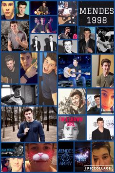 Did this collage for everyone part of the Mendes Army! Hope you like it guys! Shawn is on fleek in every picture