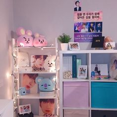 """nata⁷ on Twitter: """"armys, what stopping you from having your bedroom like these???… """" Room Design Bedroom, Girl Bedroom Designs, Room Ideas Bedroom, Cute Room Ideas, Cute Room Decor, Army Bedroom, Army Room Decor, Kawaii Room, Gamer Room"""