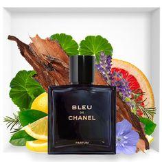 New Bleu de Chanel Perfume extract Perfume Scents, Rose Perfume, Fragrance Parfum, Perfume Bottles, Perfume Lady Million, Perfume Glamour, Perfume Hermes, Best Fragrance For Men, Lotions
