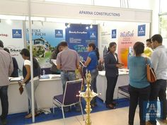 #Property Show of #Aparna Constructions