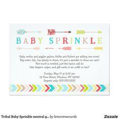 Baby sprinkle invitation girl version any color couples pink sister tribal baby sprinkle neutral gender shower invites filmwisefo Gallery