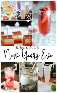 Having a party? You'll want to try these perfect New Year's Eve Cocktails