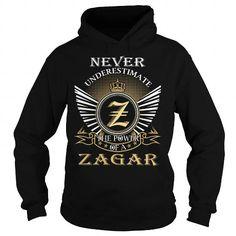 Awesome Tee ZAGAR Last Name, Surname Tshirt T shirts #tee #tshirt #named tshirt #hobbie tshirts #zagar