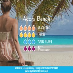 This blend reminds me of when I used to live near Accra Beach in Barbados! The smell of the tropical flowers and the ocean breeze was so beautiful.