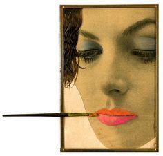 Make up (1962) Martial Raysse.