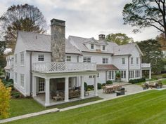 Photo of White Exterior project in Darien, CT by Wright Building Company