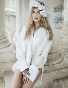 Constance Jablonski for Vogue Spain February 2011 by Alex Cayley