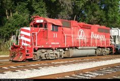 RailPictures.Net Photo: INRD 31 Indiana Rail Road EMD GP38AC at Terre Haute, Indiana by Pete Ruesch