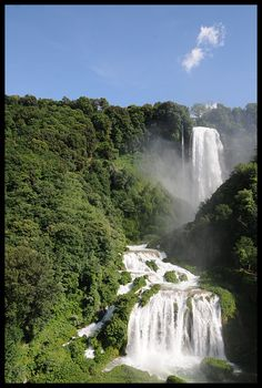 """Waterfall - Italy - """"Cascata delle Marmore"""""""