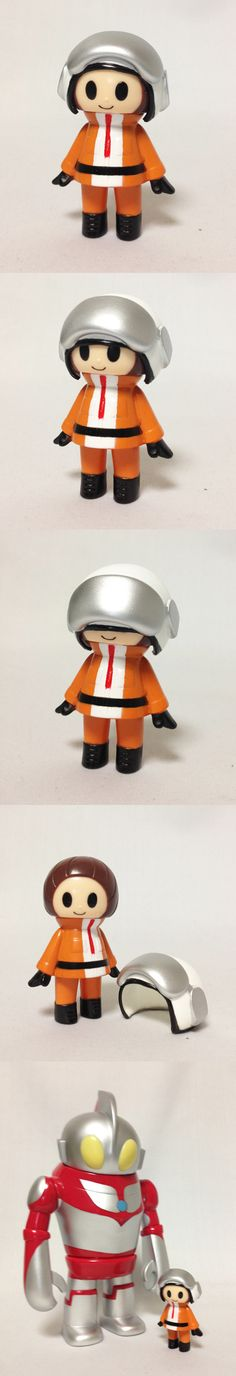 P.P.Pudding x Tsuburaya. Too bad these Ultraman PPPuddings are only available in Japan. I love the little Kinohel!
