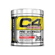 C4 Ripped är en pre-workout tillskott som kombinerar den explosiva energi C4 med…
