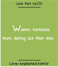 Random facts sex