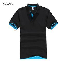 Plus Size Brand New Men's Polo Shirt High Quality Men Cotton Short Sleeve shirt Brands jerseys Summer Mens polo Shirts Shirts & Tops, Golf Polo Shirts, Short Sleeve Polo Shirts, Polo Shirts For Men, Camisa Polo, Polos Tommy Hilfiger, Polos Lacoste, Polo Shirt Women, Shirt Men