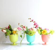 spring florals in oh joy cups!