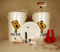 Beer Brewing Equipment Kit - MIY Kits Brew Your Own Beer, Beer Making Kits, Brewing Equipment, How To Make Beer, Beer Brewing, Ale, Tableware, Dinnerware, Ale Beer