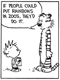 You Know They Would... Calvin & Hobbes