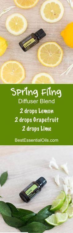 doTERRA Essential Oils Spring Fling Diffuser Blend