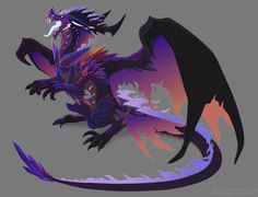 [Custom] Crystal nebula by Dinkysaurus on DeviantArt Lion With Wings, Wings Of Fire, Dragon Wolf, Dragon King, Fantasy Creatures, Mythical Creatures, Crystal Dragon, Animated Dragon, Beautiful Dragon