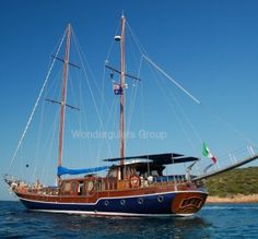 Superior wg iv 001 gulet charter Italy 24meters