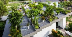 The ethos that is presented in this design is more aimed towards a responsibility towards the environment. The designer was talented enough to not sacrifice beauty of design, but, at the same time, make a garden area that is morally more considerate of the environment and ecologically friendly.