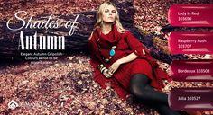 Beautiful shades of colour for Autumn and Winter