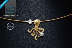 Χειροποιητο Κολιε Χαριτωμενο Χταποδακι με Μαργαριταρια Ασημενιο 925 Επιχρυσωμενο Ελληνικο Κοσμημα ♥ Δωρεαν Μεταφορικα με Αντικαταβολη ♥ Καλοκαιρινη Συλλογη ♥ Lakasa eShop Jewelry | Lakasa e-shop #freeshipping #necklace #handmade #jewelry #sterling #silver #pearls #jewellery #gift #woman summer #collection #sea #moda #bestideas #bestgifts #joyas #mujer #κολιε #ασημενιο #επιχρυσο #μαργαριταρι #χταποδι #θαλασσα #ελλαδα #καλοκαιρι #νησι #νοσταλγια #γυναικα #δωρο #δωρεαν #αντικαταβολη Gold Plated Necklace, Silver Necklaces, Jewelry Shop, Jewelry Art, Greek Art, Alex And Ani Charms, Jewerly, Pendants, Pearls
