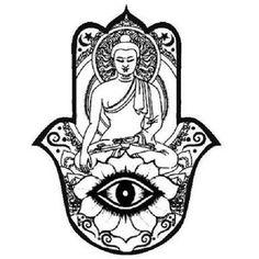 Hamsa e Buda