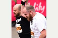 Bath Half Marathon 2015 - my man! <3