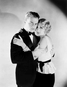 James Cagney and Joan Blondell for Blonde Crazy, 1931