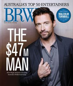 Celebrity Magazines, Hugh Jackman, Aussies, Entertaining, Magazine Covers, October, Top, Funny, Crop Tee
