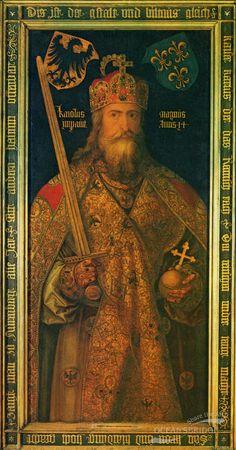 Charlemagne / Charles the Great,  Germanisches Nationalmuseum, Nuremburg, Germany