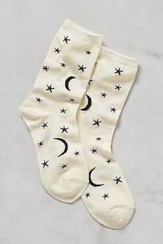 Cosmos Crew Socks - anthropologie.com