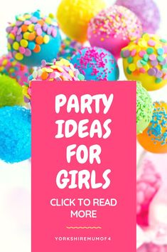 Party Ideas for girl